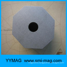 Hollow Regular Octagon SmCo permanent magnet