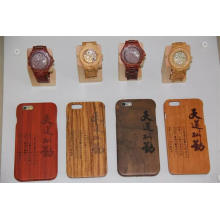 Factory Supply High Quality Case Back Cover for Wood I Phone and Watch