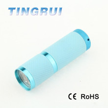 2015 zoom aluminium fashion led flashlight torch
