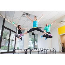 Mais seguro Primavera trampolim grátis para exercícios de Fitness