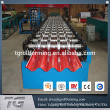 High frequency corrugated roof machines