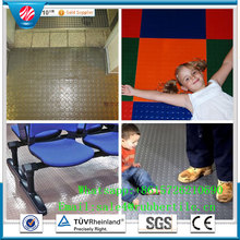 Supermarket Dedicated Rubber Flooring/Hospital Rubber Flooring