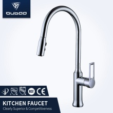Hot Cold Water Pull Down Kitchen Sink Faucet