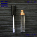 Young Girl Square Plastic Cosmetic lipgloss tube