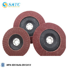 100mm grit 40# china supplier polishing flap disc with low price