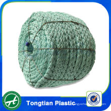 High tenacity monofilament color polyester braided fishing rope