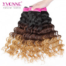 Top Grade Deep Wave Peruvian Ombre Hair