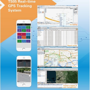 Realtime Online Auto GPS Tracking Software (TS05-ER29)