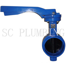 Pipe Line Grooved End Butterfly Valve