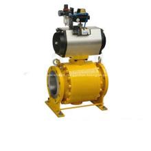 Válvula de esfera motorizadas pneumático