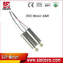 SYMA X5C/X5 Spare Part Motor Engine A B quadcopter Motor RC drone spare parts rc quadcopter Motor Engine
