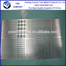 various metal raw materials perforated sheets with kinds of hole shape