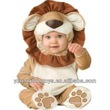 Горячая продажа очаровательны плюшевых Лев Baby Pajama