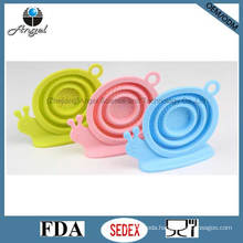 Silicone Tea Infuser Silicone Tea Bag with Snail Shape St01