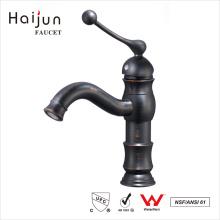 Haijun Productos en venta Cubierta de agujero único montado en lavabo grifería de baño