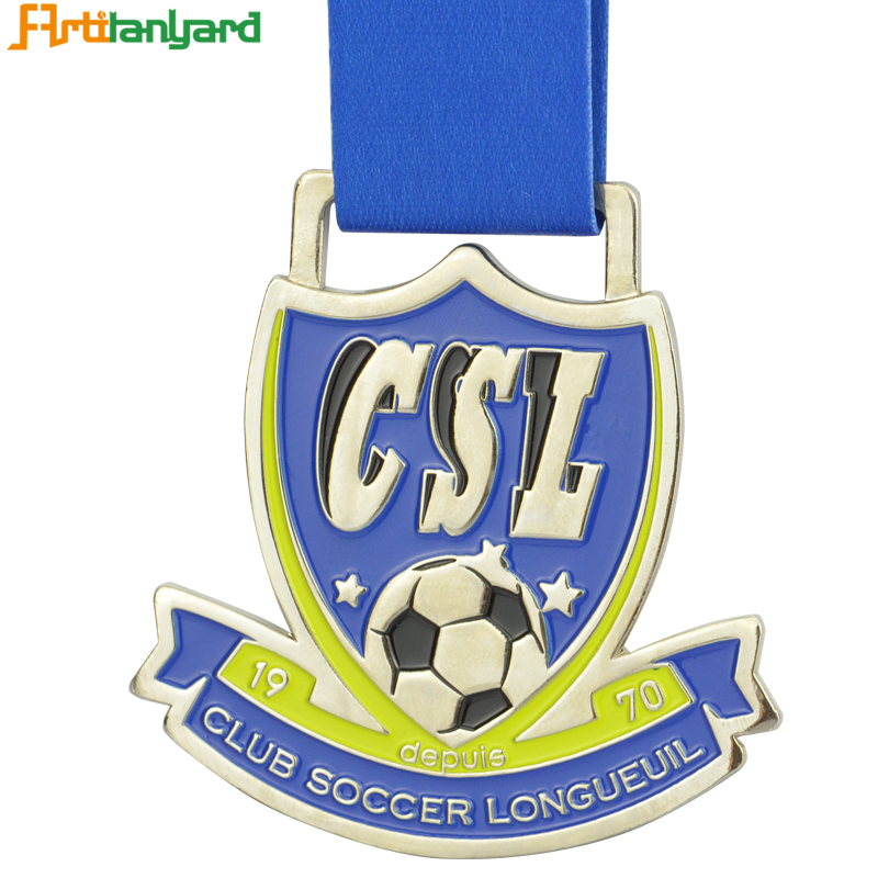Heavy Corporate Medal Gifts With Soccer Ball