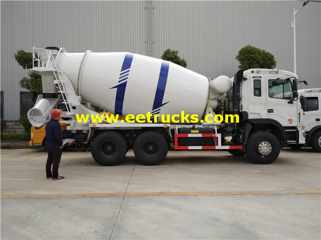 JAC 12m3 Concrete Mixing Trucks