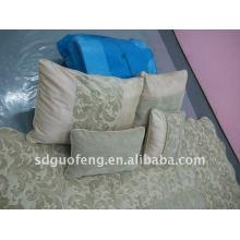 Tejidos estampados de poliéster y juegos de cama de algodón