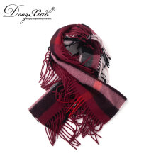 New Fashion Ladies Exclusive Scarves Fashionable Thicken Warm 100% Cashmere Scarf