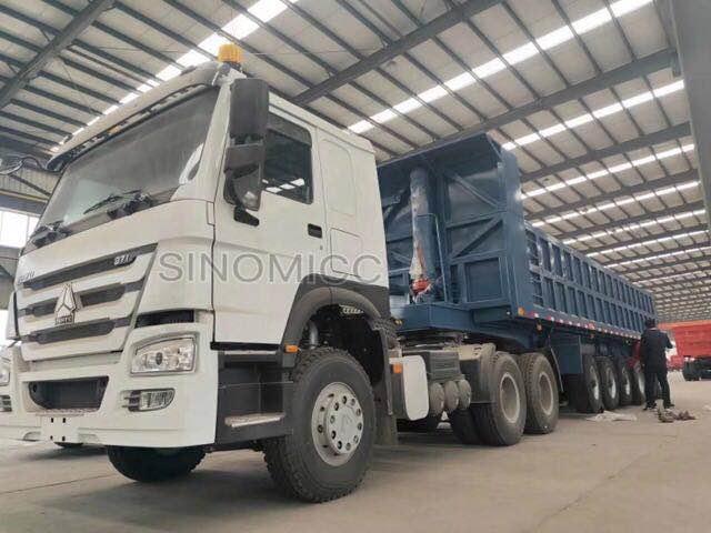 6 Axle 45 Cubic Meter Dump Truck Trailer