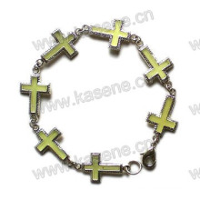 Fashion Metal Cross Bracelet