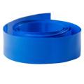 Tubo azul do psiquiatra do calor do PVC da isolação para a bateria de lítio