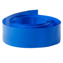 Blue Insulation PVC Heat Shrink Tube For Lithium Battery