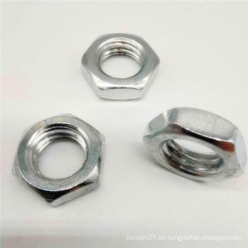 A2 Metallschloss Titan Sechskantflanschmutter