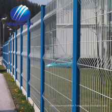 welded wire fence panel export to Japan fence pvc coated curvy welded fence