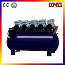 4200W 180L Ölfreier Stummkolben Dentalluftverdichter