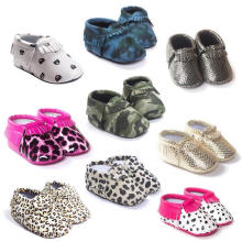 Newborns Soft Sole Anti-Slip Toddler Loafer Infant Girls Shoes