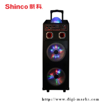 Good Quality Portable Bass Speaker with Bluetooth FM Function