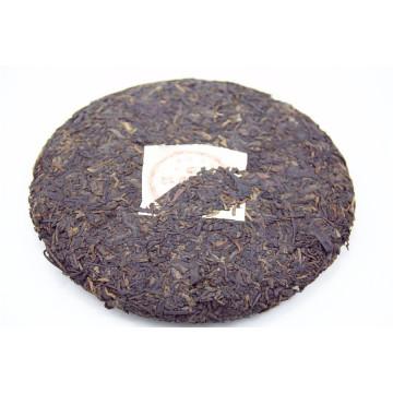 Top chinês fornecedor fragrâncias originais 357g Puer chá, árvore antiga, chá de puerh de bolo especial