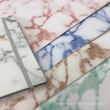 PVC marmorizado couro de pvc para sacos e embalagem