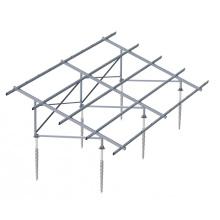 Sistemas de montaje a tierra de panel de vidrio montado a rosca a tierra