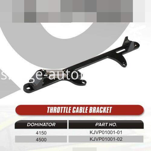 Throttle cable bracket