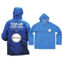 Men′s PVC Raincoat, Rain Jacket