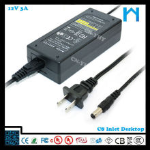universal 12v 3a ac dc adapter 12v smps dc adapter