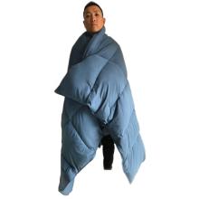 Manta de plumón a prueba de agua de nylon paracaídas 20D