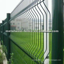 powder coated welded wire mesh fence