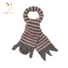 Écharpe tricotée de bébé de mode d'hiver, écharpe d'enfants