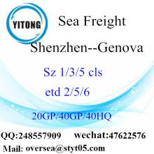 Shenzhen cảng biển vận chuyển hàng hóa vận chuyển đến Genova