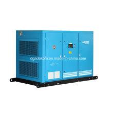 Compresor de tornillo refrigerado por aire de dos fases industriales lubricado (KF160-7II)