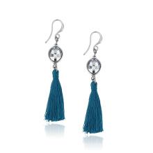 2018 Fashion Tassel Earrings Crystals from Swarovski Carolina Bucci for Summer holiday Earrings