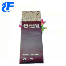 Campione gratuito Stand Up Kraft Paper Coffee Bags