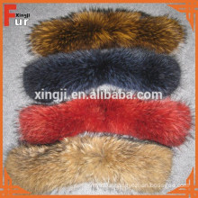 Wholesale Chinese Raccoon Fur Collar for Jacket