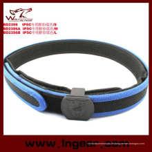 Militärische Idpa Ipsc Gürtel Polizei taktische Gürtel mit Gurt blau