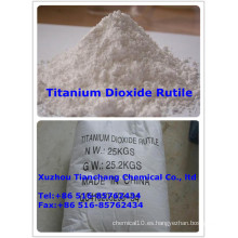 Pigmento blanco Dióxido de titanio Rutilo
