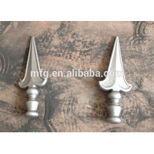 good quality wrought iron & cast iron decorated gate fencing ornament