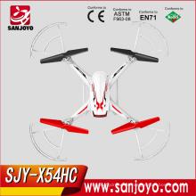 Nueva Llegada Syma X54HC Quadcopter Control Remoto 2MP HD Cámara Barómetro Set Altura Drone RTF
